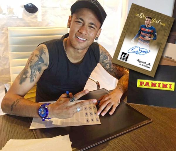 Neymar Donruss Post