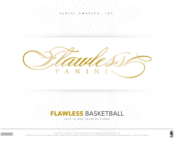 Panini America 2015-16 Flawless Basketball PIS Main