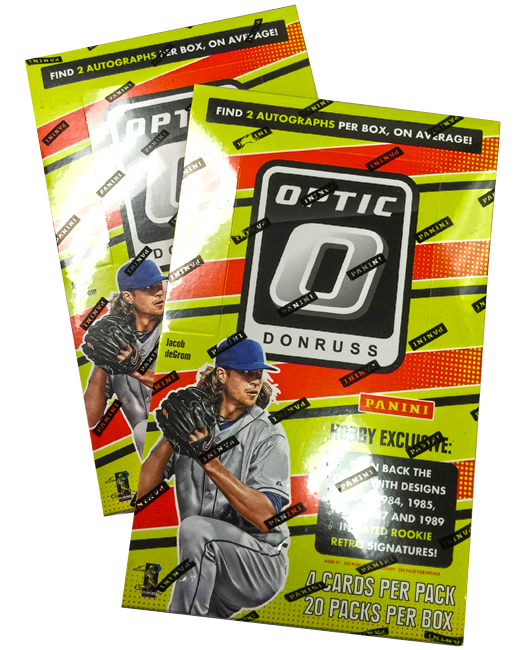 Panini America 2016 Donruss Optic Baseball Teaser1