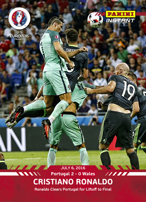 Ronaldo Header Panini Instant