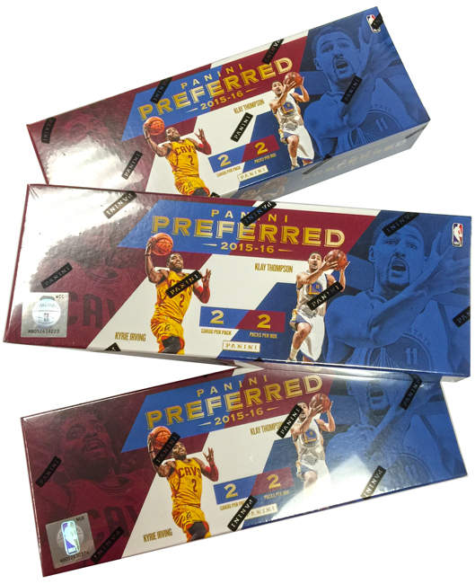 Panini America 2015-16 Preferred Basketball Teaser1