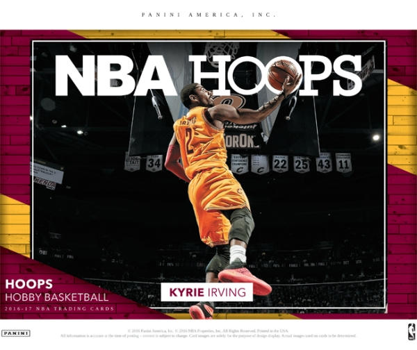 Panini America 2016-17 NBA Hoops Basketball Main