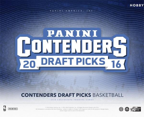Panini America 2016 Contenders Draft Picks Basketball Main