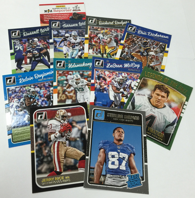 Boxes of 2016 donruss football the official panini america blog