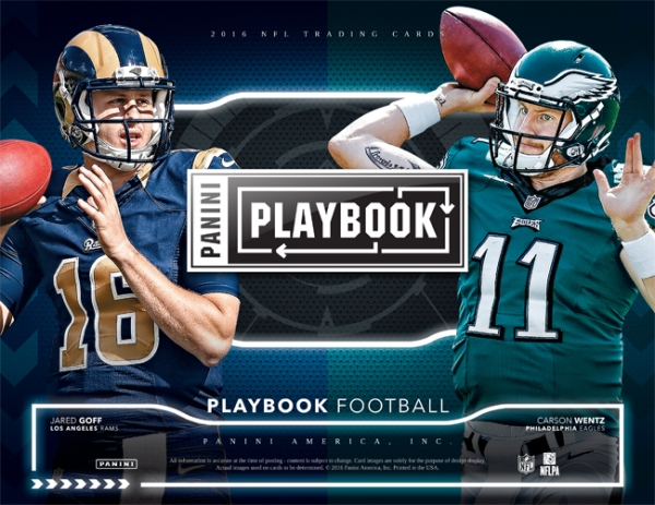 Panini America 2016 Playbook Football Main
