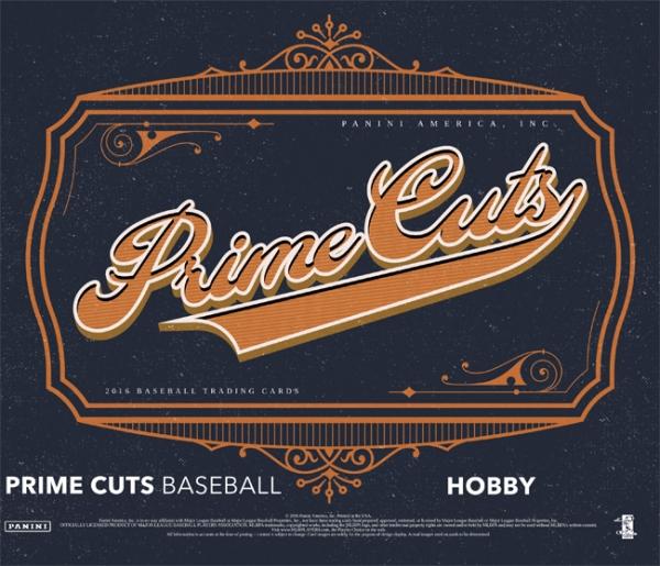 Panini America 2016 Prime Cuts Baseball Main