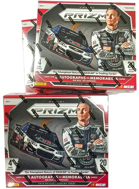 Panini America 2016 Prizm NASCAR Racing Teaser1