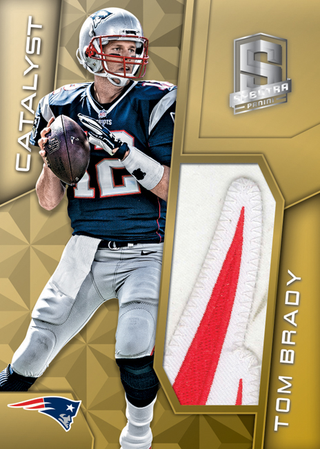 Panini America 2016 Spectra Football Tom Brady