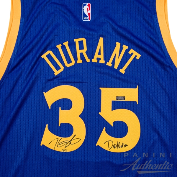 Panini Authentic KD Warriors4