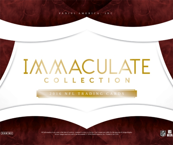 Panini America 2016 Immaculate Football Main