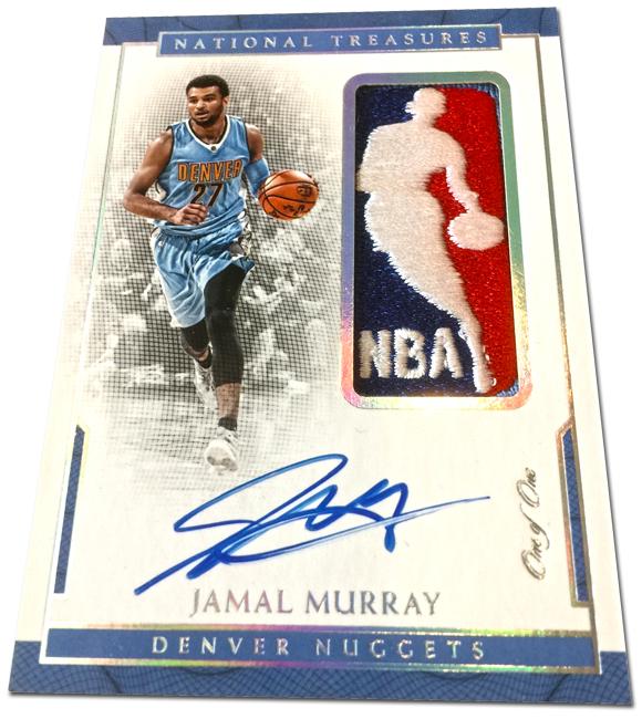 Panini America 2016-17 National Treasures Basketball Jamal Murray