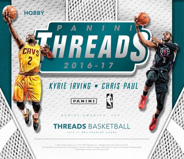 Panini America 2016-17 Threads Basketball Main