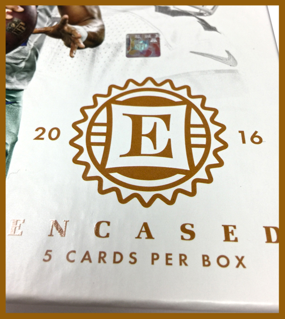 Panini America 2016 Encased Football QC2