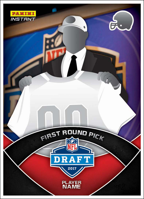 Drafted One Minute, Rookie Cards the Next: Panini Instant's Ready for 2017 NFL Draft  The