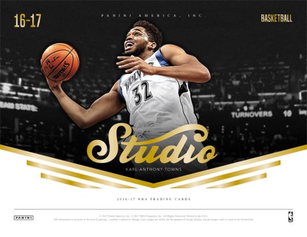 Panini America 2016-17 Studio Basketball Main