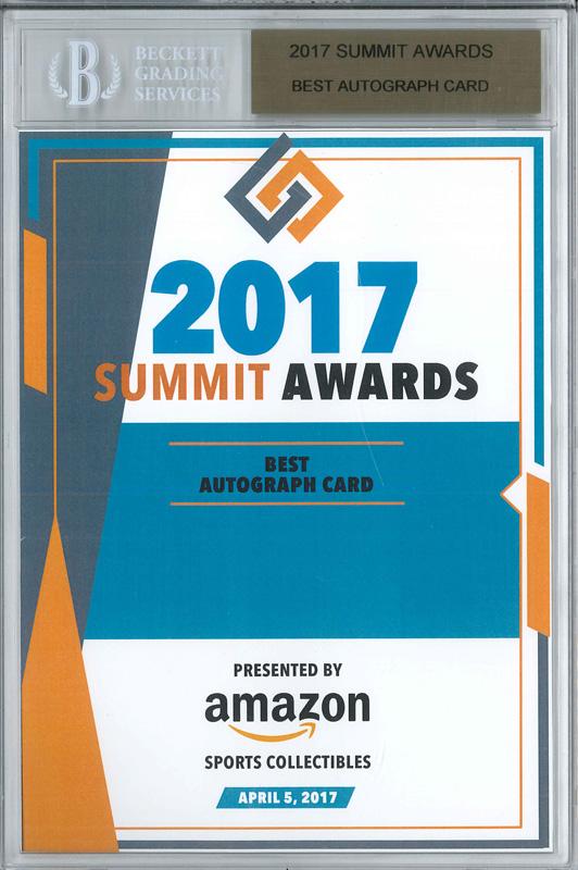 Panini America 2017 Industry Summit Awards1