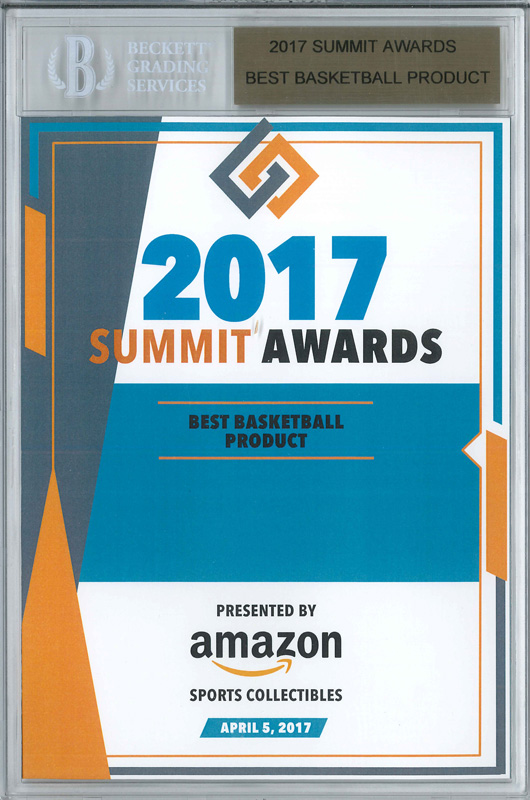 Panini America 2017 Industry Summit Awards2