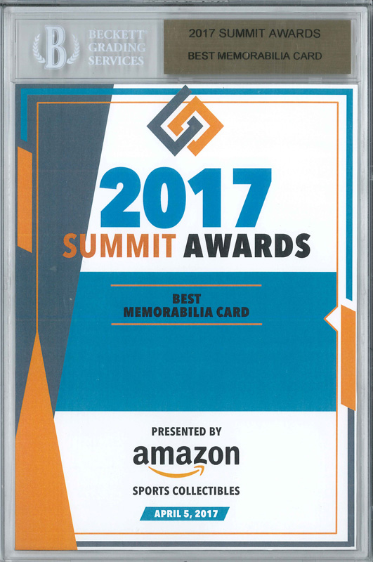 Panini America 2017 Industry Summit Awards7