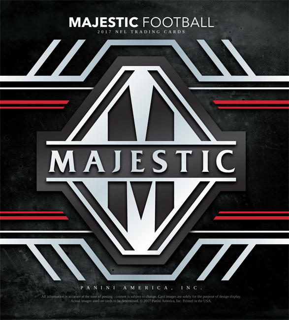 Panini America 2017 Majestic Football Main