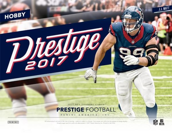 Panini America 2017 Prestige Football Main