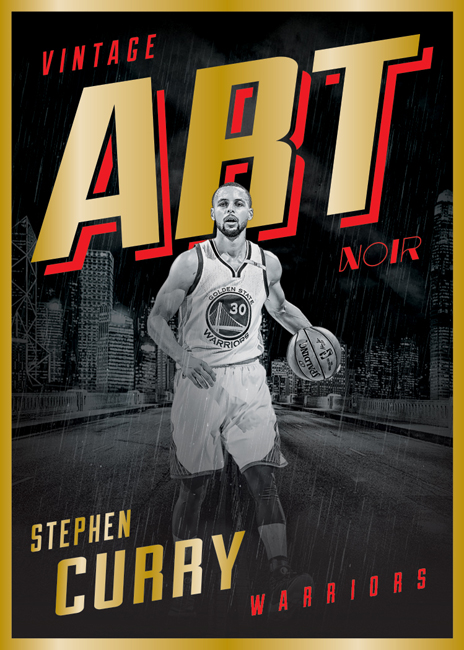 Panini America 2016-17 Noir Basketball Stephen Curry