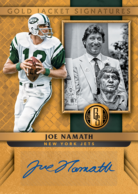 Panini America 2017 Gold Standard Football Joe Namath