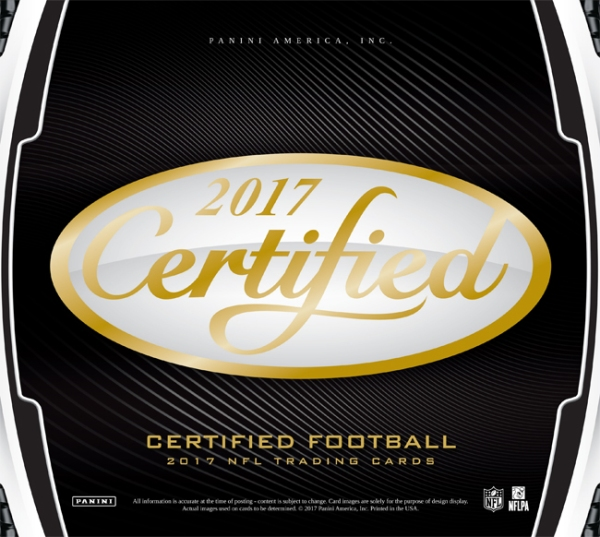 Panini America 2017 Certified Football Main