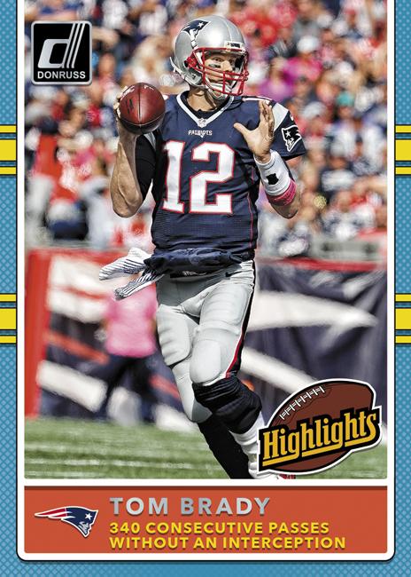 Panini America 2017 Donruss Football Tom Brady