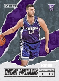 Panini America 2017 Father's Day Basketball Rookies24