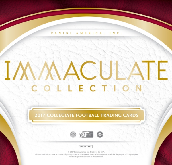 Panini America 2017 Immaculate Collegiate Football Main