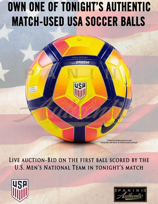 U.S. Soccer Ball Auction