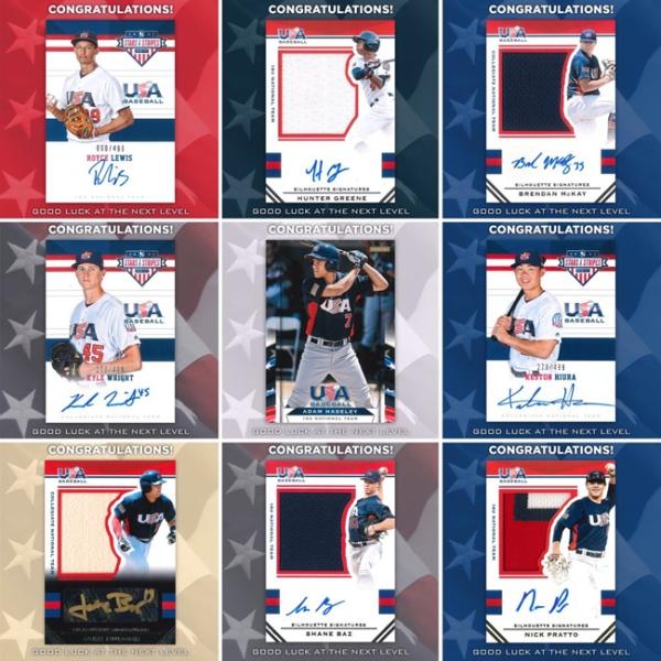 USA Baseball Collage