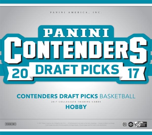 Panini America 2017 Contenders Draft Picks Basketball Main