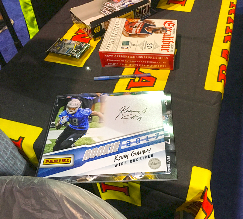 Youth Movement Drives Panini America on the Second Day of the 2017 ...