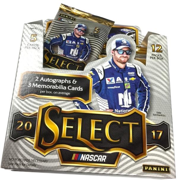Panini America 2017 Select NASCAR Racing Teaser31
