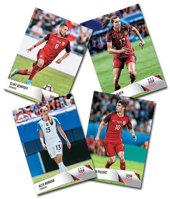 2017 Panini Instant U.S. Soccer Team Collection Main