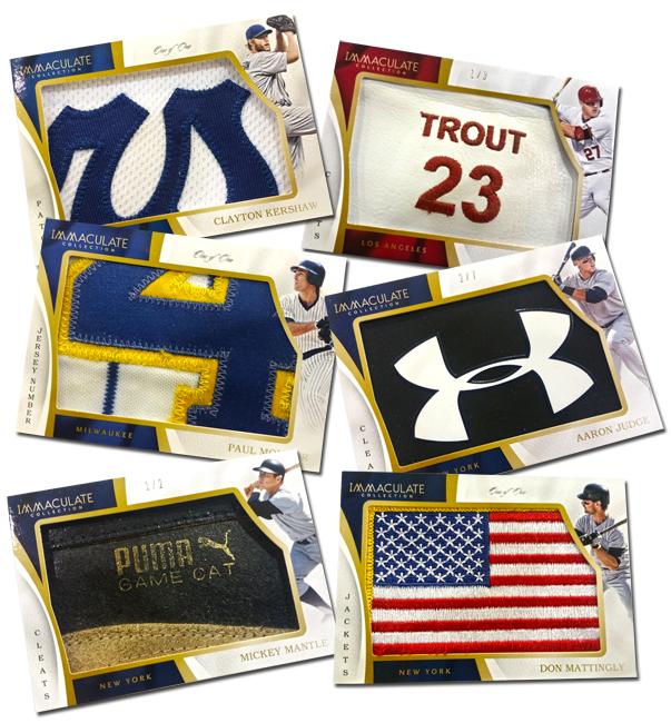 Panini America 2017 Immaculate Baseball Memorabilia Main