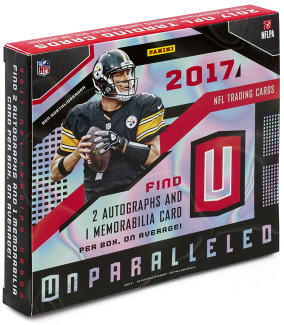 Panini America 2017 Unparalleled Football QC Gallery2
