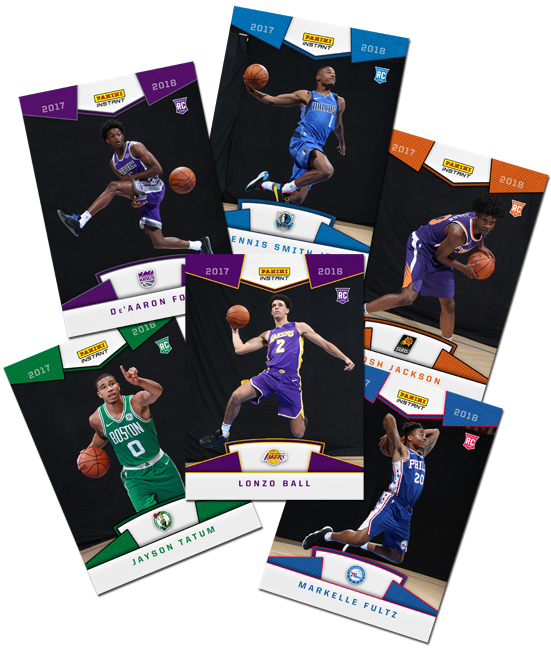 Panini NBA Rookie Photo Shoot Instant