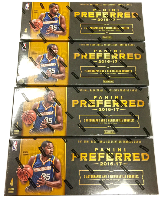 Panini America 2016-17 Preferred Basketball Teaser Gallery1