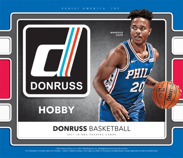 Panini America 2017-18 Donruss Basketball Main