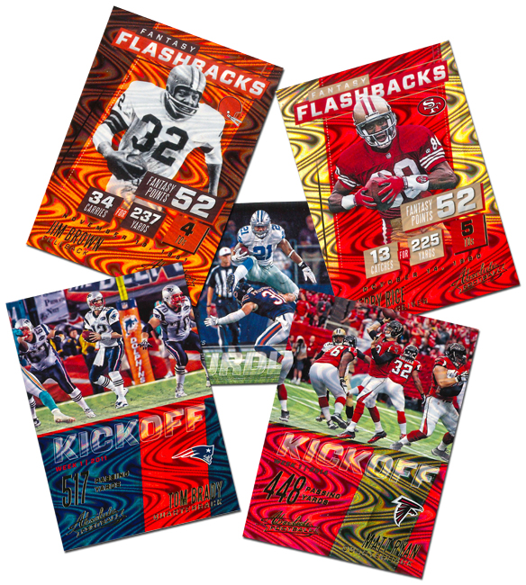Panini America 2017 Absolute Football Inserts Main