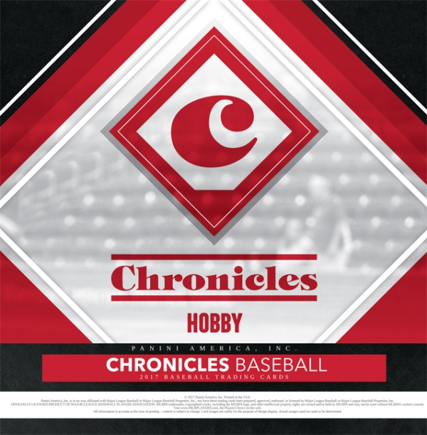 Panini America 2017 Chronicles Baseball Main
