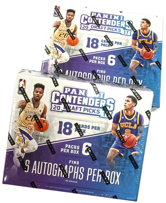 Panini America 2017 Contenders Draft Picks Basketball Teaser1