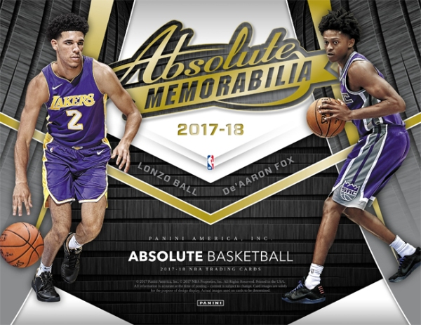 Panini America 2017-18 Absolute Basketball Main