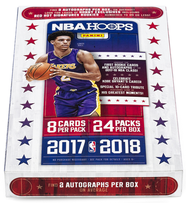 Panini America 2017-18 NBA Hoops Basketball QC1