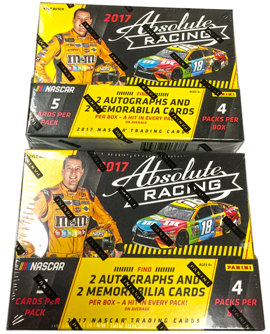Panini America 2017 Absolute NASCAR Racing Teaser2
