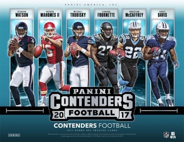 Panini America 2017 Contenders Football Main