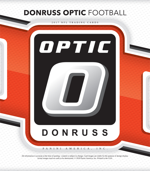 Panini America 2017 Donruss Optic Football Main
