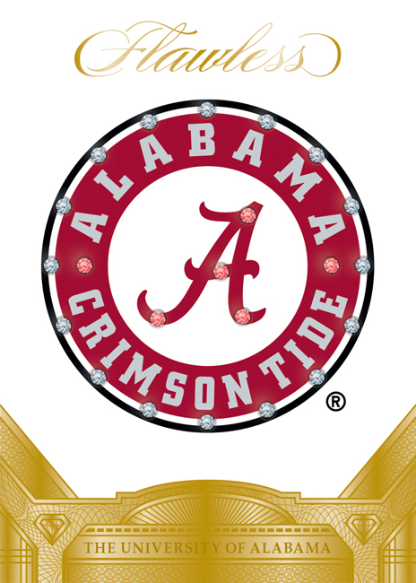 Panini America 2017 Flawless Collegiate Football Alabama